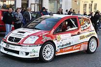 Start 46. Mogul Šumava Rallye Klatovy