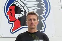 Trenér hokejového týmu mužů HC Klatovy Pavel Vostřák.