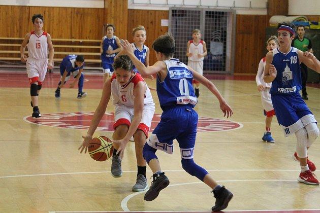 SBK Klatovy U14 - BK Jiskra Domažlice U14
