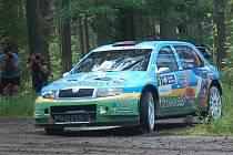 Rally Agropa 2011, RZ 3, Komušín - Horažďovice
