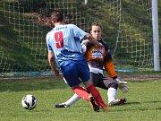 Fotbal, krajská soutěž dorostu: Nepomuk (modří) - Horažďovice