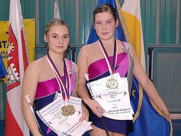 Michaela Staňková a Natalie Moravčíková