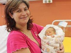 Filip Klenc z Nezdic u Přeštic (3290 gramů, 49 cm) se narodil v klatovské porodnici 20. března ve 14.29 hodin. Rodiče Michala a David přivítali očekávaného prvorozeného synka na svět společně.
