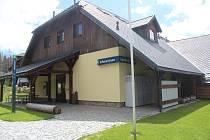 Spolkový dům s infocentrem na Modravě a okolí.
