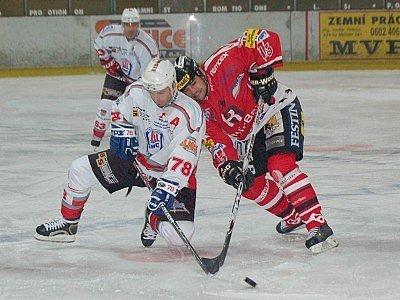 Klatovští hokejisté podlehli v nedělním utkání druholigové nadstavby sudá – lichá svým hostům z Chrudimi 1:4.