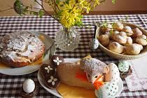 Velikonoční symboly. Foto: Lucie Kohoutová