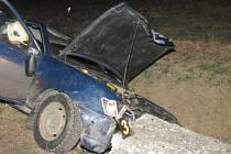 Dopravní nehoda v Dražovicích.