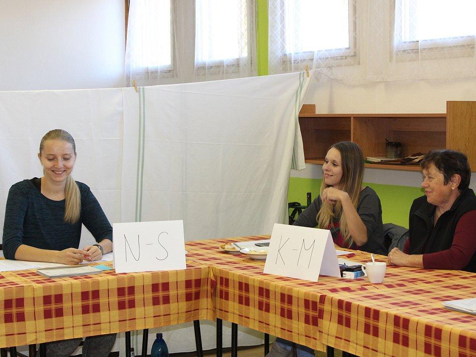 Druhé kolo senátních voleb v Klatovech.