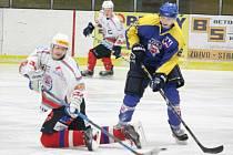 Liga juniorů: HC Klatovy (bílé dresy) - HC Slovan Ústí nad Labem 4:9