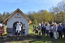 Kaplička sv. Vintíře u Javorné.