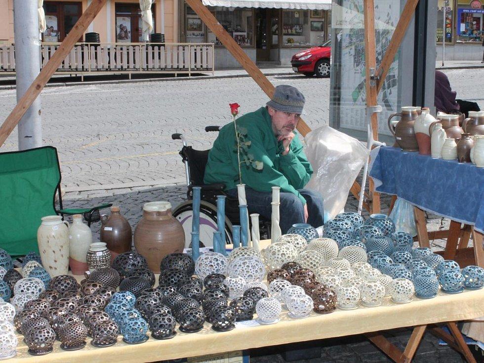 Velikonoce na klatovském náměstí.