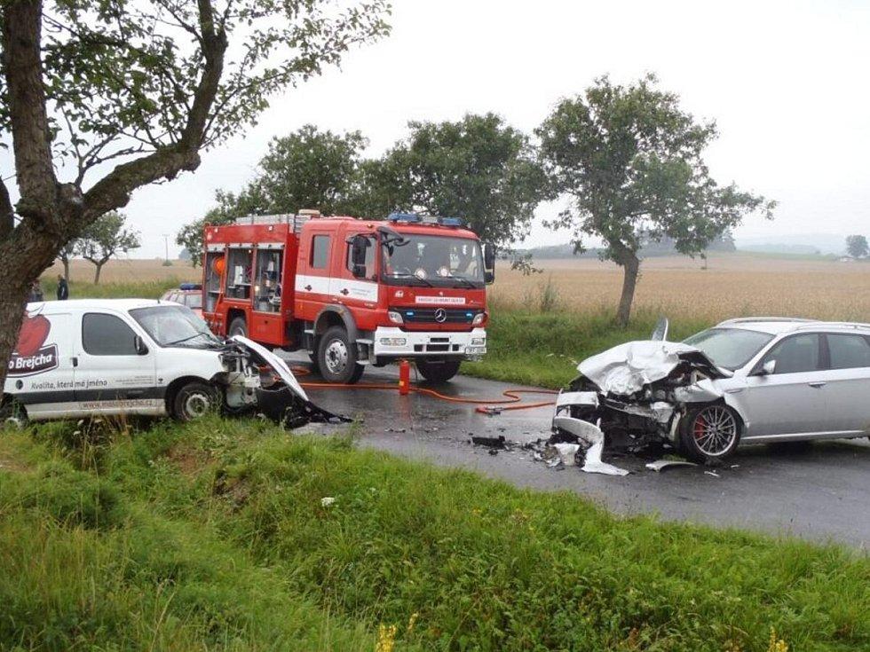 Dopravní nehoda u Svéradice
