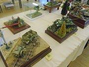 Soutěž plastikových modelů v Nýrsku.