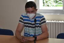 Milan Mašek u klatovského okresního soudu.