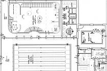 Vizualizace návrhu zatraktivnění krytého byzénu v Klatovech