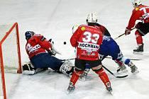 V zimní hale v Jablonci nad Nisou se 5.12. hrálo hokejové utkání II. ligy mezi celky HC Vlci Jablonec nad Nisoua HC Klatovy