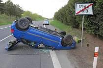 Nehoda v Červeném Poříčí.