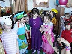Masopust v mateřské školce v Pačejově