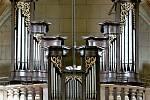 Varhany v kostele sv. Markéty v Kašperských Horách