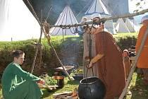 Středověké vaření na hradě Velhartice