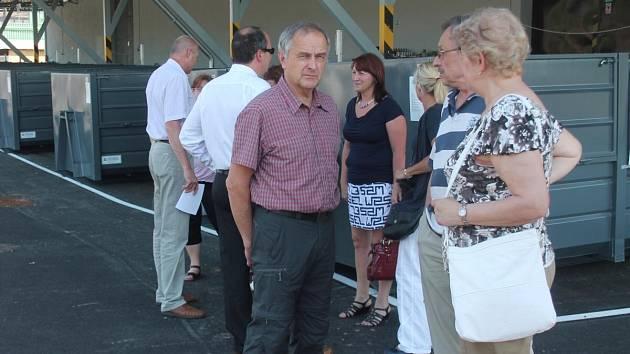 Otevření nového sběrného dvora v Klatovech