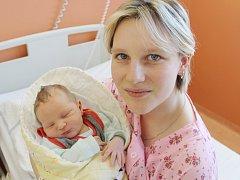 Martin Melka z Čejkov (3760 g, 52 cm) se narodil v klatovské porodnici 4. dubna ve 12.15 hodin. Rodiče Kamila a Martin přivítali svého očekávaného prvorozeného syna na svět společně.