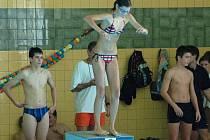 Okresní přebor žactva v plavání