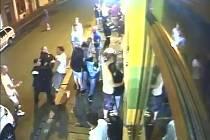 Rvačka v Klatovech, při které byl mimo jiné zraněn městský strážník.