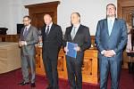 Vyhlášení ankety Nejlepší provozovna roku 2019 v Klatovech.