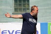 Trenér TJ Sušice Pavel Hrubec (na archivním snímku) přišel na hřiště v 83. minutě, aby o pět minut později vyrovnal a poslal zápas s Kaznějovem do penalt.