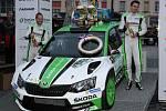 Rallye Šumava Klatovy 2017 suverénně ovládla posádka továrního týmu Škoda Motorsport Jan Kopecký, Pavel Dresler s vozem Škoda Fabia R5