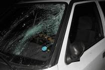 Auto, které u Janovic smetlo 41letého Klatovana