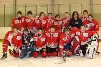 Starší žáci HC Klatovy na turnaji v Praze