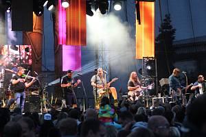 Divokej Bill zahrál v sobotu v Klatovech.