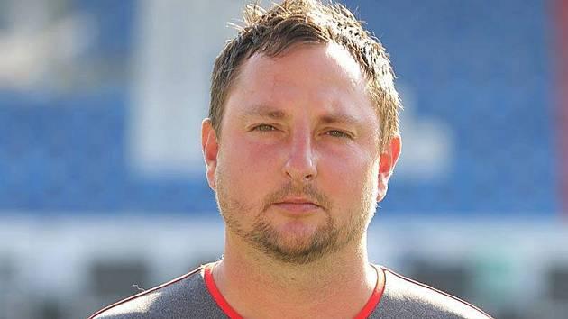 Trenér klatovského staršího dorostu Martin Lepeška.
