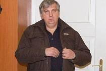Oldřich Vávra před klatovským soudem.