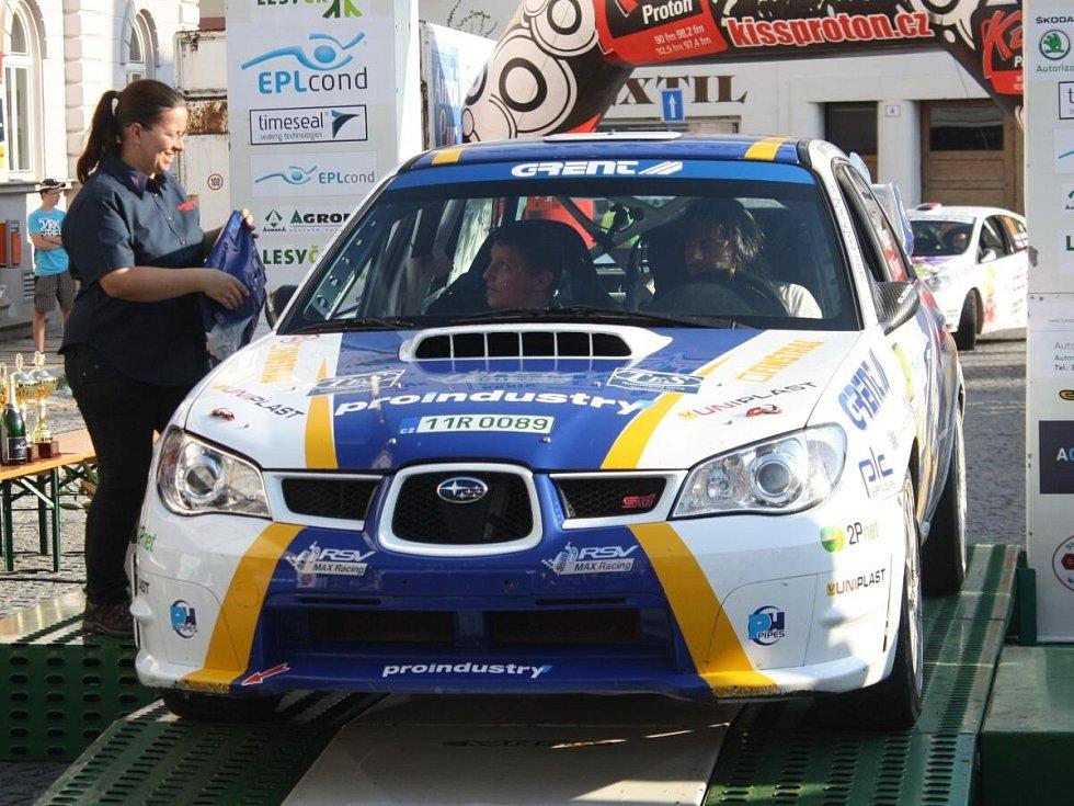 Cíl  XXXIV. EPLcond Rally AGROPA 2013.