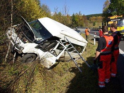 Dopravní nehoda u Železné Rudy