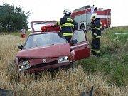 Dopravní nehoda u Velkého Boru.