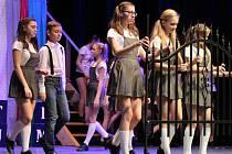 Muzikál Matilda v klatovském divadle.