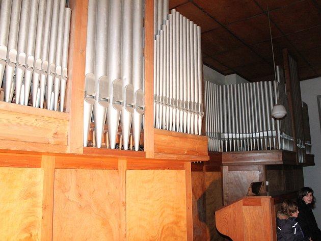 Benefiční koncert na podporu opravy varhan.