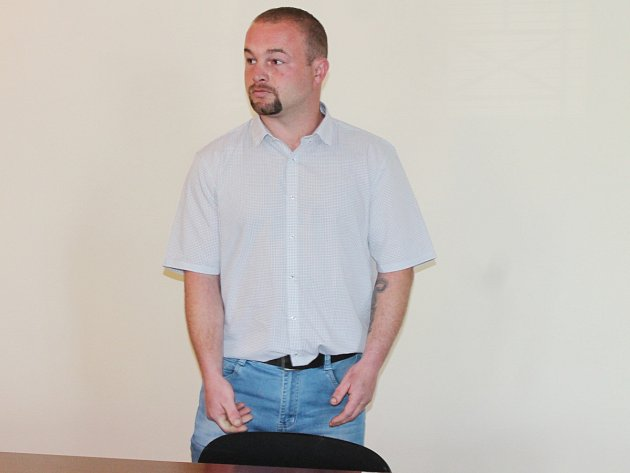 Václav Bulka u klatovského soudu.