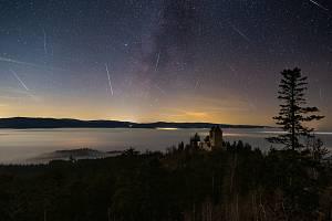 Meteory nad Kašperkem.