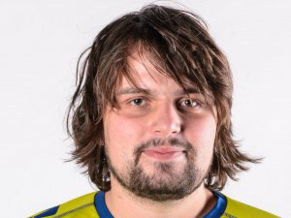 Hrající trenér Klatov David Hlaváček.