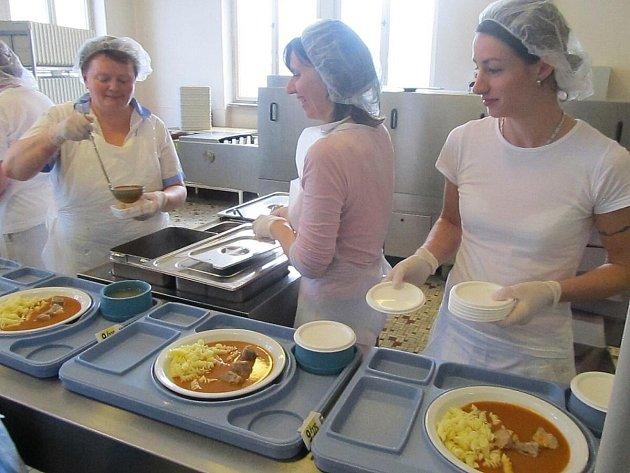 Provoz v kuchyni Klatovské nemocnice