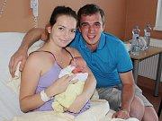 Tomáš Ferus z Vrhavče (3150 g, 51 cm) se narodil v klatovské porodnici 4. července v 9.12 hodin. Rodiče Petra a Tomáš přivítali svého očekávaného prvorozeného syna na svět společně.