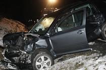Dopravní nehoda u Běšin.