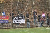 Fotbalový Bolevec má sice svůj vlastní kotel a na zápasech ho fanoušci vehementně podporují. Na internetu ale neuspěl.