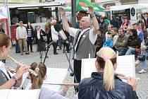 Zahájení turistické sezony na klatovském náměstí