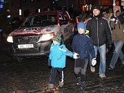 Čerti na klatovském náměstí